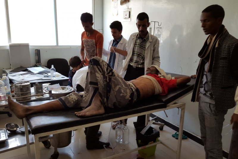 An image preview for MSF in Yemen: 'On an average day, we hear around five explosions per minute' article.