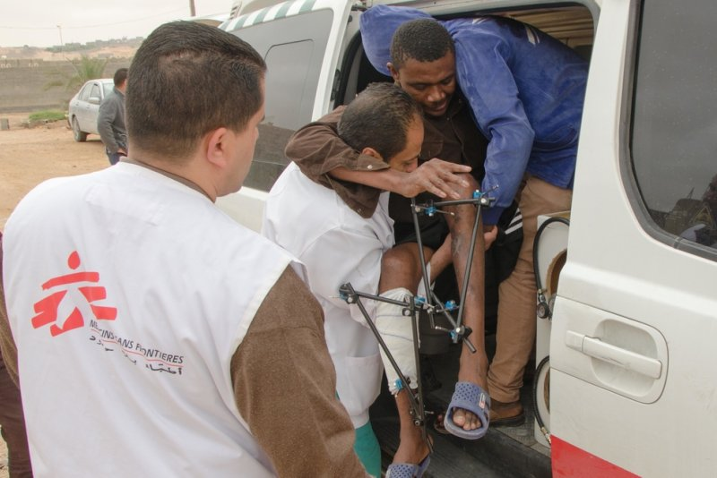 An image preview for 'Abducted, locked up, sometimes even murdered': An MSF head of mission on the abuses faced by migrant detainees in Libya article.