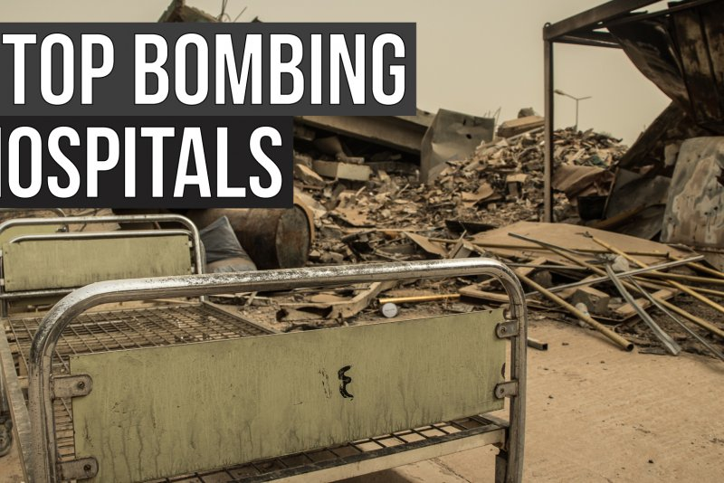 An image preview for MSF Pulse: Continued attacks on hospitals in conflict zones must stop article.